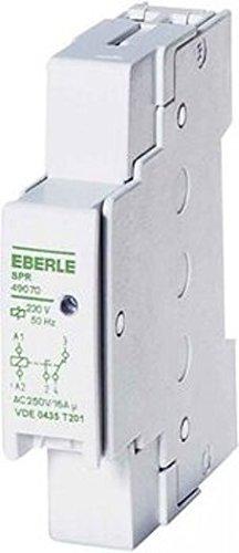 Eberle Controls 049070140000 Speicherrelais / Boilerrelais (plombierbar, elektromeschanisch, Montage auf Tragschiene, 17,8 x 90 x 60 mm, Weiß)