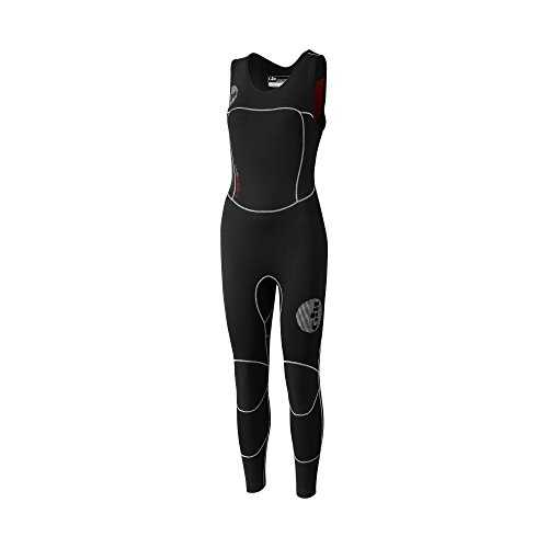 2016 Gill Ladies Thermoskin 4/3mm GBS Skiff Suit Black 4614W Sizes- - Ladies 10