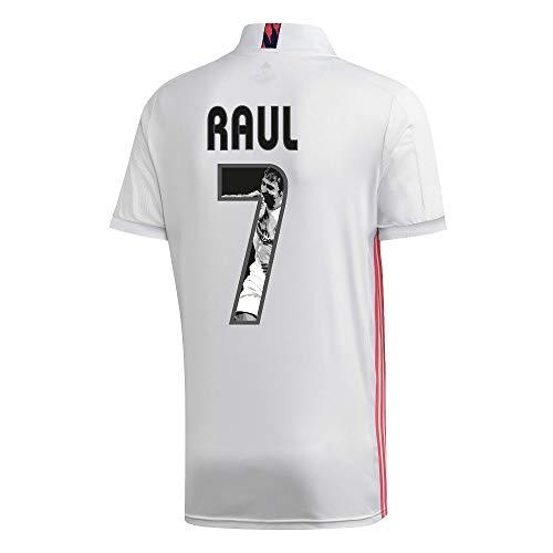adidas Real Madrid Raul 7 Home Trikot 2020-2021 (Gallery Beflockung) - M