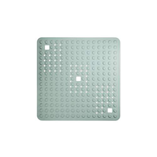WohnDirect Duschmatte Mint/quadratisch: 60x60 cm • sehr rutschfest & sehr robust • Antirutschmatte für Dusche oder Badewanne • waschbar bei 60°C