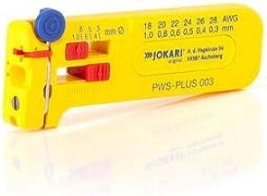 Jokari 40026 PWS-Plus 003 Mini-precisie-stripper, voor het ontmantelen van ladders en strengen AWG 28 tot 18/0,30-1,00 mm ...