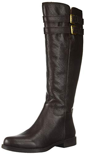 Franco Sarto Women's Christoff Equestrian Boot , Hickory, 7.5 M(Wide Calf)