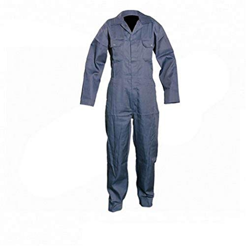 Silverline 832743 - Tuta da lavoro, Blu marino, Taglia XL- 116 cm
