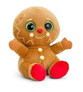 Keel Toys SX2730 Gingerbread Man, Brown