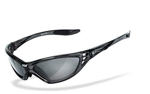 HSE SportEyes® | UV400 beschermfilter, HLT® kunststof veiligheidsglas volgens DIN EN 166 | sportbril, fietsbril, zonnebril |
