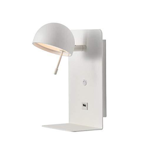 Lampade wandlamp, wandlamp, wandlamp, wandlamp, wandlamp, wandlamp, wandlamp, wandlamp voor wandplank, Scandinavisch Lettura met laaddeur, nachtkastje, slaapkamer, zijwand