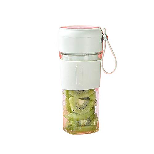 Mini taza exprimidora portátil licuadora personal batidora de frutas Mini exprimidor recargable USB taza agitador eléctrico pequeño para viajes en casa