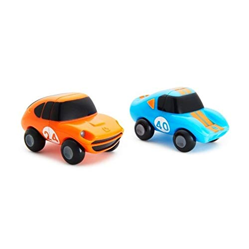 Munchkin Magnet Motors Spielzeugautos Badespielzeug,farbig sortiert, 2er-Pack, mehrfarbig