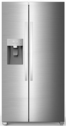 Hisense SBS 535 A++ ELIW Side-by-Side / 178.6 cm Höhe / 345 kWh/Jahr / 367 L Kühlteil / 168 L Gefrierteil / Eis- und Wasserspender / Total No Frost