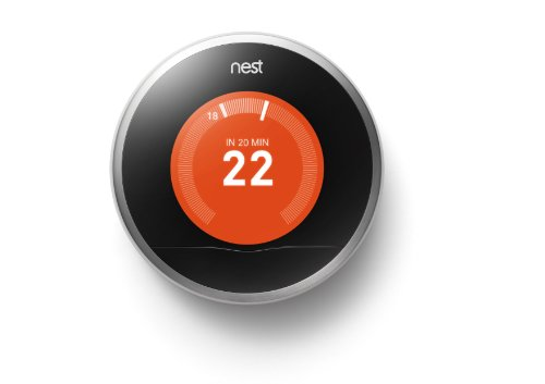 Nest Learning Thermostat 3rd gen. - Termostato inteligente (Acero...