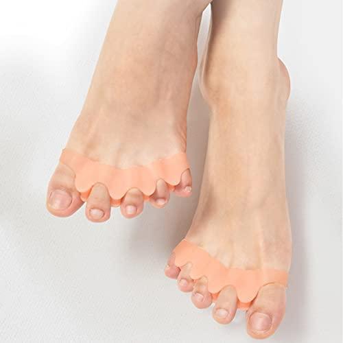 足指セパレーター 足指 広げる サポーター 外反母趾 内反小趾 シリコン素材 男女兼用 2個セット 改良新型