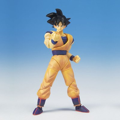 Dragonball Z BanDai Hybrid Action Mega Articulated 4 Inch Action Figure Goku image