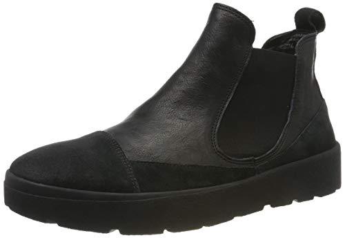 Think! Damen DRUNTA_585090 Chelsea Boots, Schwarz (Sz/Kombi 09), 38 EU
