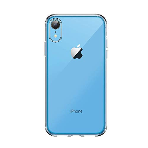Amazon Brand – Solimo Mobile Cover (Soft & Flexible Back case) Transparent for Apple iPhone XR
