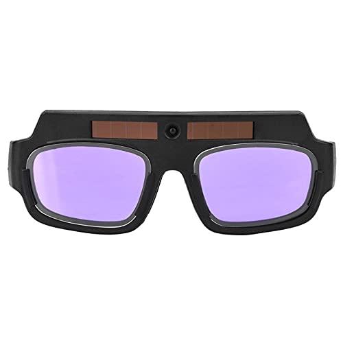 Occhiali per saldatura ad oscuramento automatico, Occhiali protettivi per saldatura ad oscuramento automatico solare Occhiali per saldatura ad arco di argon, Occhiali per saldatura Maschera per saldat