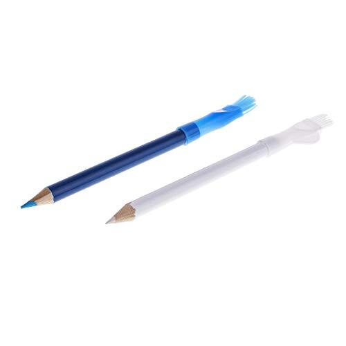 U/K Pulabo - 2 lápices de tiza para coser, scrapbooking, manualidades, marcadores, etc.