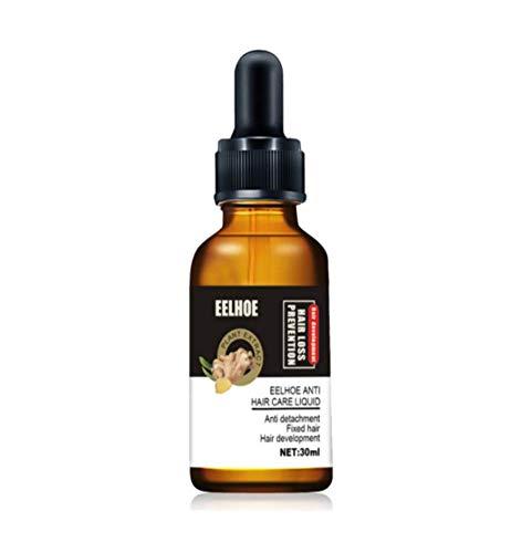 10X-Regro Strong Hair Serum Rapid Growth Hair Treatment 30ml,Strong Hair Repairs Hair Follicles,Hair Thinning,Balding,Promotes Thicker,Repairs Hair Follicles for Women & Men (A-Ginger)