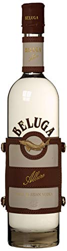 Beluga Allure Noble Russian Wodka mit Leder (1 x 0.7 l)
