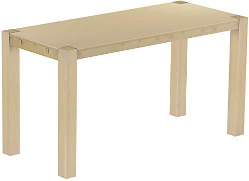 Brasilmöbel Hochtisch Rio Kanto 208x90 cm Birke Bartisch Holz Tisch Pinie Massivholz Stehtisch Bistrotisch Tresen Bar Thekentisch Echtholz Größe und Farbe wählbar