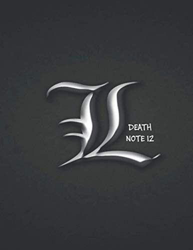DEATH NOTE 12: Anime, Laughter and joke notebook, 8.5' x 11', 110 Pages, Death Note