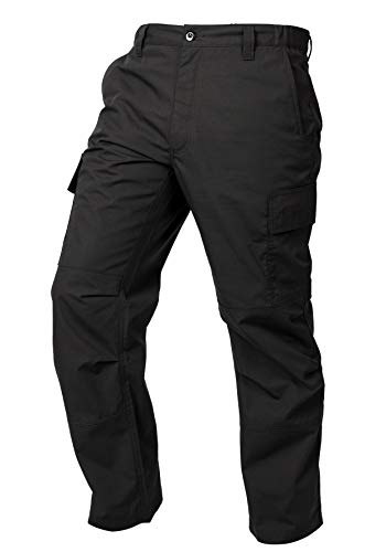 LA Police Gear Mens Core Cargo Lightweight Work Pant - Black - 38 X 32
