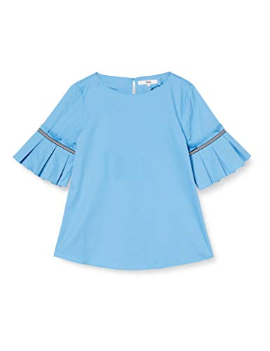 Marca Amazon - find. Blusa Mujer, Azul (Blue), 38, Label: S