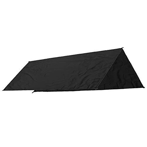 DHUYUN Cenadores Carpa Camping al Aire Libre Parasol Lluvia Ultravioleta de la Playa Toldo Toldo Refugio de Picnic en la Playa colchoneta Pads (Color : Black,...