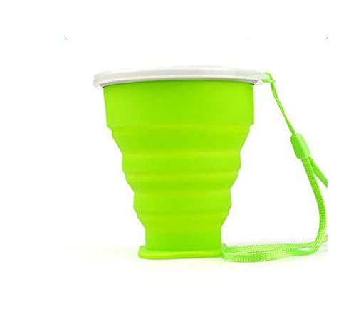 Outdoor Camping Cup Retractable Collapsible Drinkware Bar Travel Water Cup Folding Cup Portable Silicone Travel Coffee Tea Mug