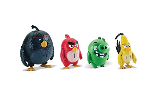 Angry Birds 6027803–Deluxe Figura de acción, modelo surtido, 1 unidad
