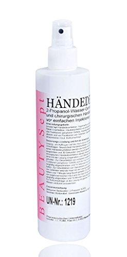 Desinfektion Händedesinfektion Isopropanol mit Sprühkopf 250ml