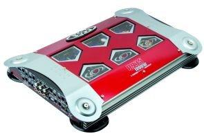 BOSS R9355Canales Amplificador MOSFET de Potencia, Jungle Series Mando a Distancia para subwoofer (4x 80W 1x 150Watts RMS–4ohmios estéreo–10x 150W RMS X 1300Watts con 2ohmios estéreo