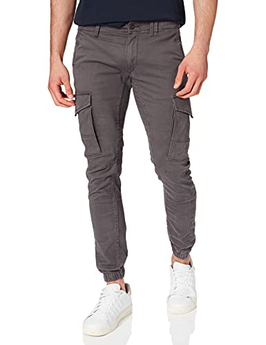JACK & JONES Male Cargohose Paul Flake AKM 542 3132Asphalt