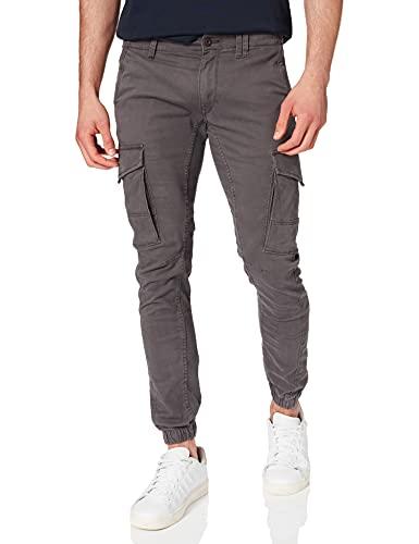 Jack & Jones Jjipaul Jjflake AKM 542 Noos Pantalones, Gris (Asphalt Asphalt), W32/L32 (Talla del Fabricante: 32) para Hombre