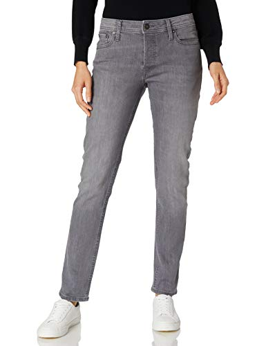 Jack & Jones Jjiglenn Jjoriginal Am 806 Jeans, Gris Denim, 27W x 30L Homme