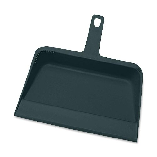 Genuine Joe GJO02406 Heavy-Duty Plastic Dust Pan, 12-inch