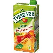 Tymbark Apfel-Pfirsich-Getränk /// Jablkow Brzoskwinia 1L