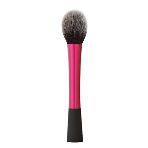 Ogquaton Premium Rose Color Handle Foundation Face Blush Cosmetic Brush...
