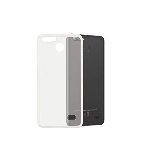 "YZKJ Hülle für Blackview A7 Pro (5,0\"" Cover,Weiche Handytasche Transparent TPU Handyhülle Silikon Tasche Schale Case Schutzhülle für Blackview A7 Pro"