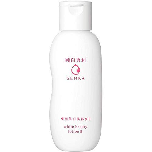 Shiseido Senka Junpaku White Beauty Lotion - 200ml - Moist (Green Tea Set)