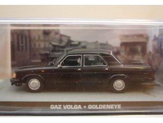 Ex Mag Gaz Volga Voiture Miniature de James Bond Goldeneye