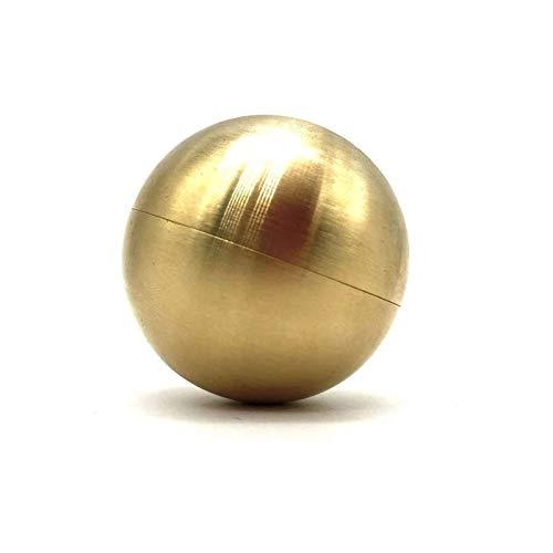 Playpen Imposible Titan Premium Puzzle Nivel 10 Materiales de protección Ambiental de latón para Adultos Challenge de Cerebro Juegos de Inteligencia Inicio para Adultos niños (Color : Gold)