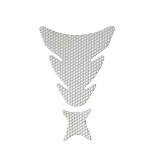 NEX Performance Motorcycle Tank Pad Protector, Universal, White