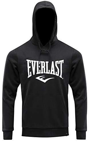 Everlast Sports Chaqueta con Capucha de Skateboarding, Negro, XS para Hombre