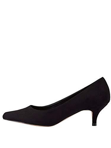 Marypaz, Zapato de salón con tacón bajo y Punta Fina para Mujer...