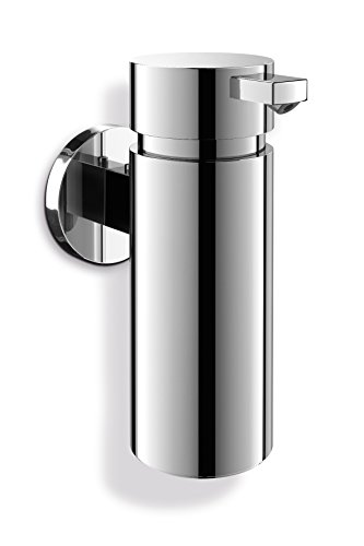 Zack 40080 Scala Wall Mounted Liquid Dispenser, 6.1/2.17-Inch, Silver