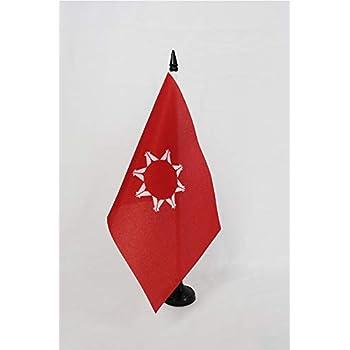 Black plastic stick and base AZ FLAG Cheyenne indians Table Flag 5 x 8 Native American tribe Desk Flag 21 x 14 cm
