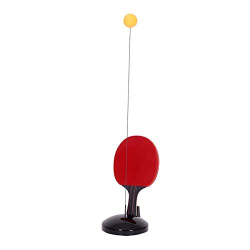 KMDSM Ping-Pong, Mesa de Eje elástico Dispositivo de Entrenamiento Pelota de Tenis Suave autoformación Mesa Raqueta de Tenis (Size : 110cm)