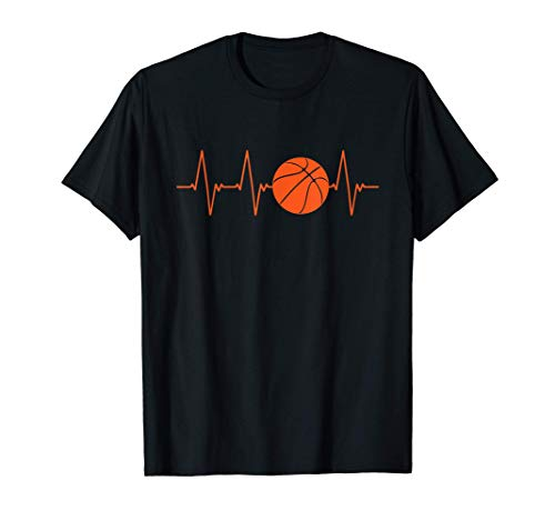 Basketball Herzschlag BBall Geschenk T-Shirt
