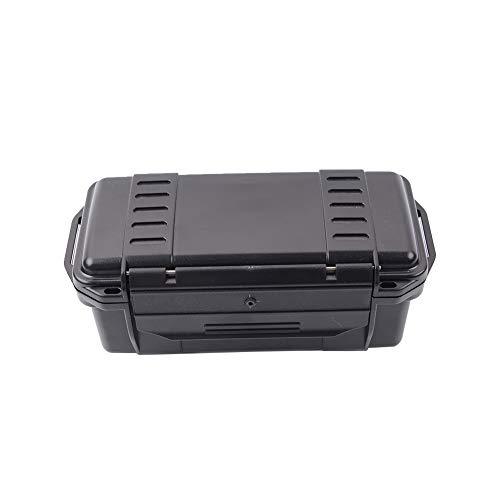 1PC ABS sigillato impermeabile Custodia impermeabile Dry Box antiurto Esterni trasporto protettivo Storage Case Contenitore nero stile-C