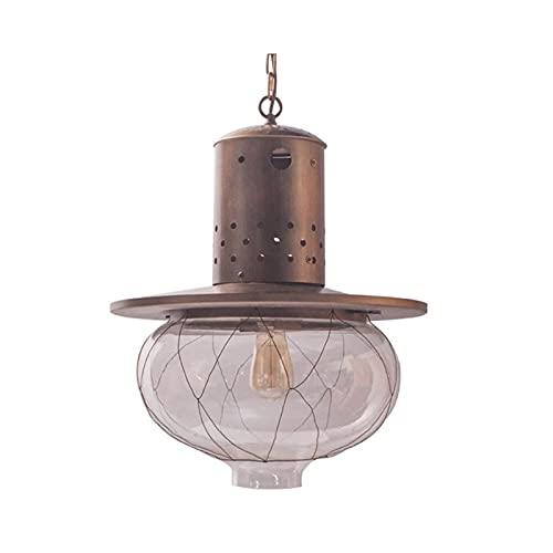 Lámparas De Araña Luz colgante colgante vintage E26 / E27 Lámpara de techo de hierro forjado de chandelier de estilo irregular europeo y americano